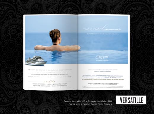 Ad Regent Seven Seas - Revista Versatille